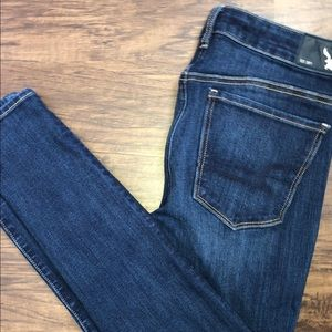 American Eagle high rise jeans